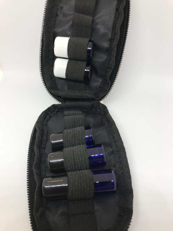 varying rollers and bottles in key chain