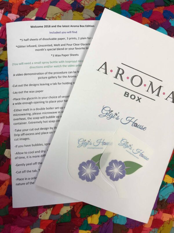 AromaBox 2/18 Kit wrapper