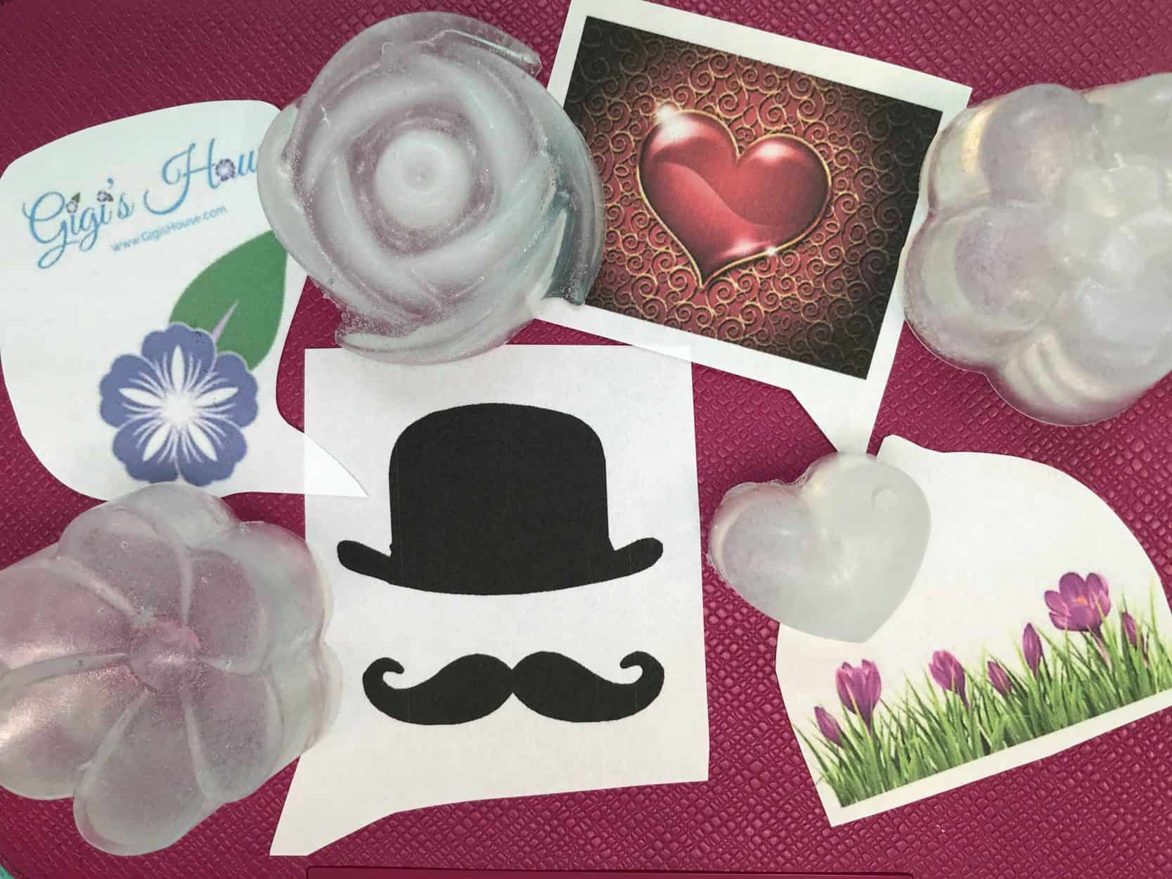 soap slips + soap shapes