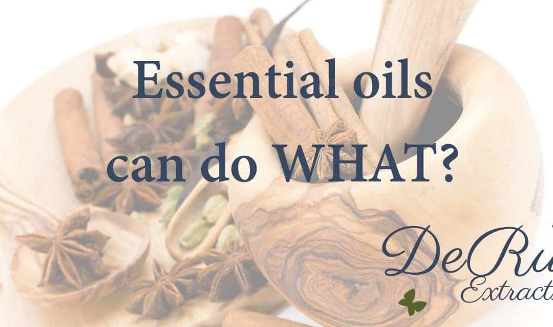 Fun Fact Friday – Essential oils can do what?